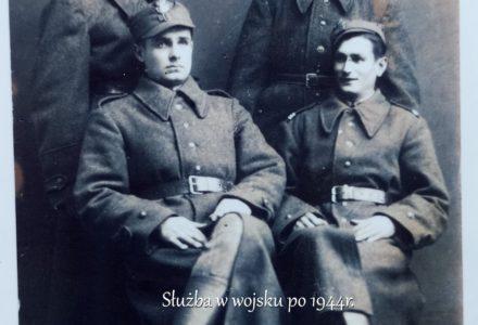 1. Służba w wojsku po 1944r